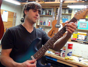 South Austin Music provides a variety of instrument and guitar repair services performed in-house.